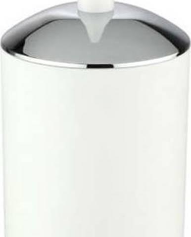 Bílý toaletní kartáč Wenko Brasil
