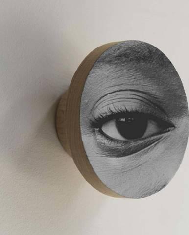 Háček z borovicového dřeva Really Nice Things Eye