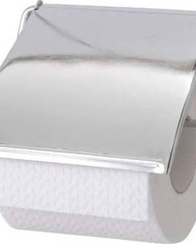 Nástěnný držák na toaletní papír z nerezové oceli Wenko Cover
