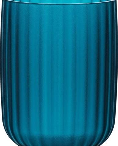 Petrolejově modrý kelímek na kartáčky Wenko Agropoli