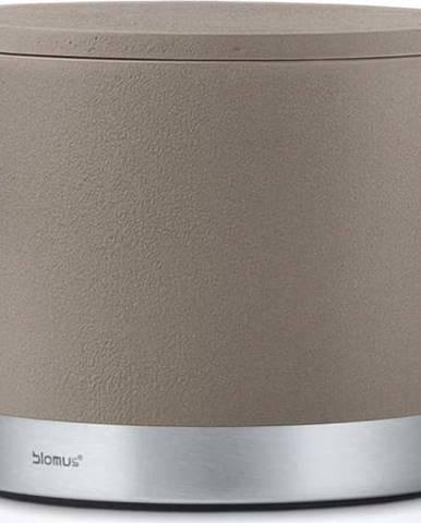 Šedohnědý úložný box Blomus, objem400ml