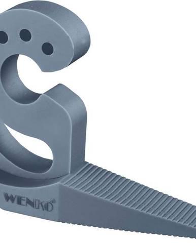 Šedomodrá zarážka na dveře aokna Wenko Multi-STOP®