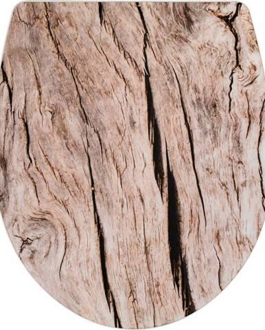 WC sedátko se snadným zavíráním Wenko Bois, 45 x 38,8 cm