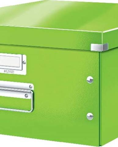 Zelená úložná krabice Leitz Universal, délka 48 cm