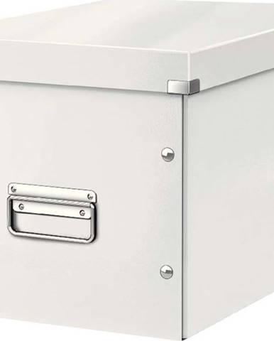 Bílá úložná krabice Leitz Office, délka 36 cm