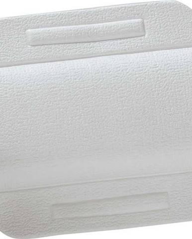 Bílý přísavný opěrný polštář do vany Wenko, 34,5x24cm