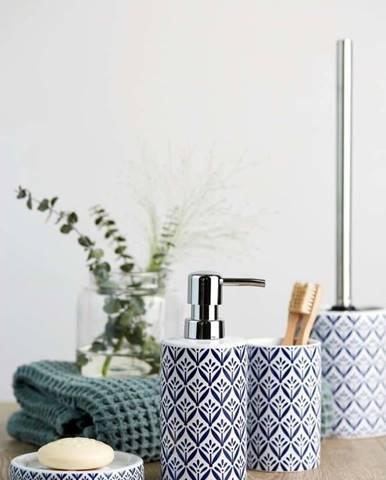 Modrý toaletní kartáč Wenko Lorca