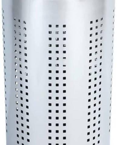 Taburetka s úložným prostorem ve stříbrné barvě Wenko Bergamo, 46 l