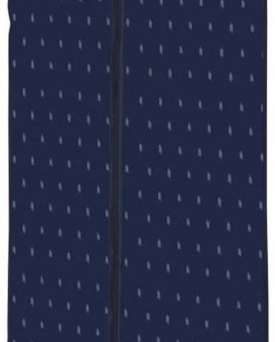 Tmavě modrý závěsný obal na oblečení Compactor Dots, délka100cm