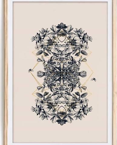 Obraz v rámu Velvet Atelier Botanical, 60 x 40 cm