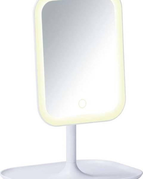 WENKO Bílé kosmetické zrcadlo s LED podsvícením Wenko Bertolio
