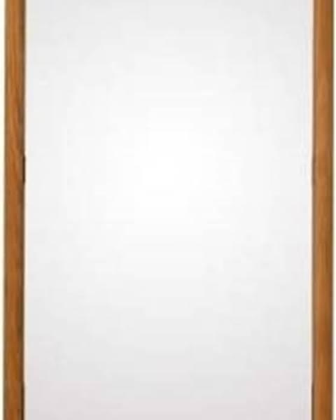 Canett Stojací zrcadlo z masivního dubového dřeva Canett Uno, 46,6x170cm