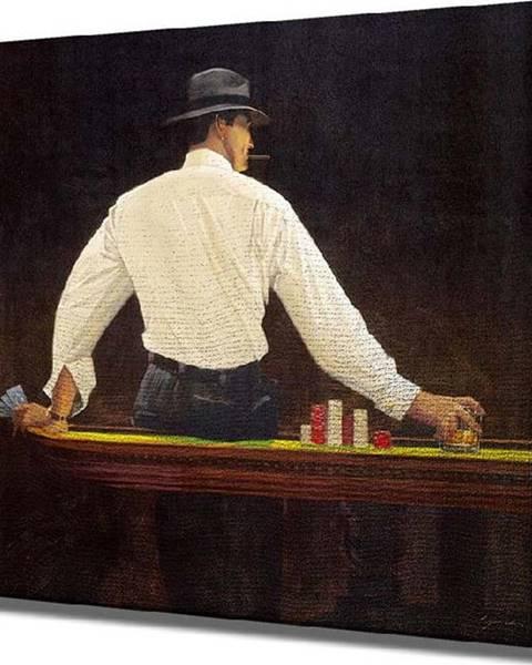 VeGA Nástěnný obraz na plátně Player, 45 x 45 cm