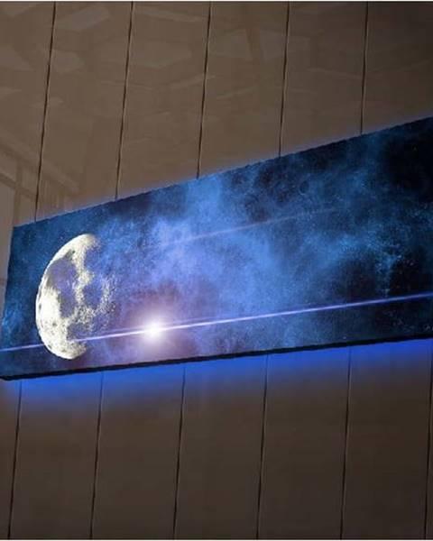 Ledda Podsvícený obraz Ledda Universe, 90x30cm