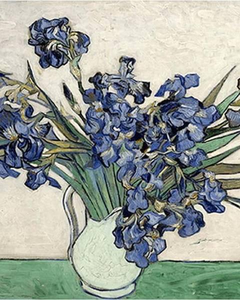 Fedkolor Reprodukce obrazu Vincenta van Gogha - Irises 2, 40 x 26 cm