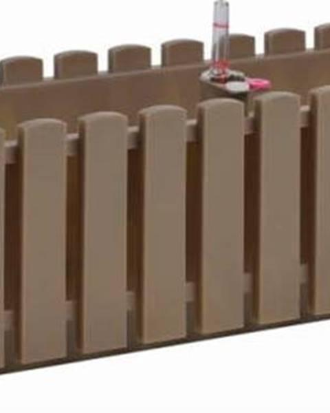 Gardenico Šedohnědý truhlík Gardenico Fency System, délka 75cm