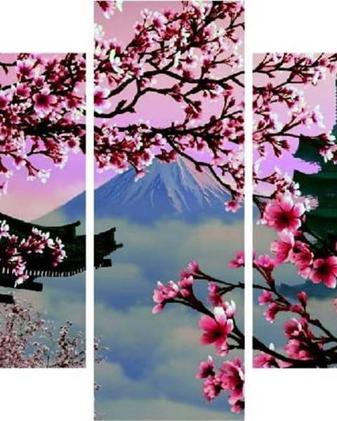 Destiny Vícedílný obraz Japan View, 92x56 cm
