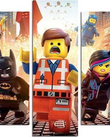 5dílný obraz Lego
