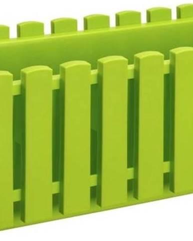 Hráškově zelený truhlík Gardenico Fency System, délka 50cm
