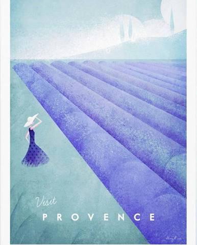 Plakát Travelposter Provence, A3