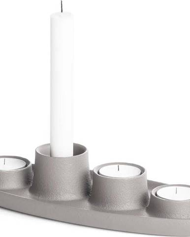 Světle šedý svícen EMKO Aye Aye Four Candles