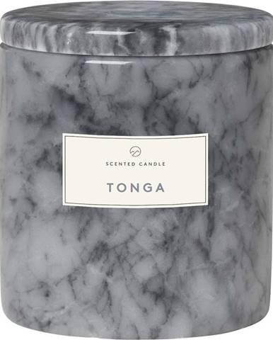 Svíčka s vůní květiny tonga v mramorové dóze Blomus Marble