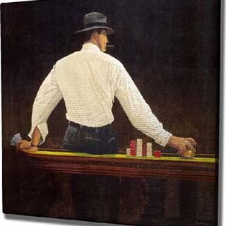 Nástěnný obraz na plátně Player, 45 x 45 cm