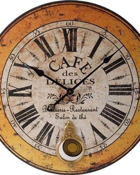 Antic Line Hodiny Antic Line Cafe des Delices, 59 cm