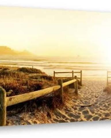 Obraz Styler Canvas Harmony Beach II, 45 x 140 cm