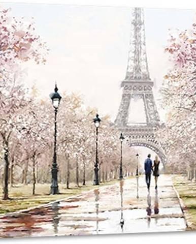 Obraz Styler Canvas Watercolor Paris Melancholy, 85 x 113 cm