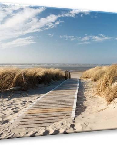 Obraz Styler Glasspik Sandy Beach, 70 x 100 cm