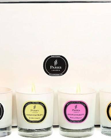 Sada svíček Parks Candles London, vůně santalu, grapefruitu, rozmarýnu a bergamotu