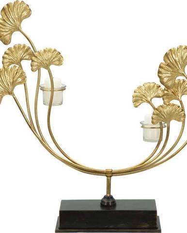 Železný svícen ve zlaté barvě Mauro Ferretti Iris