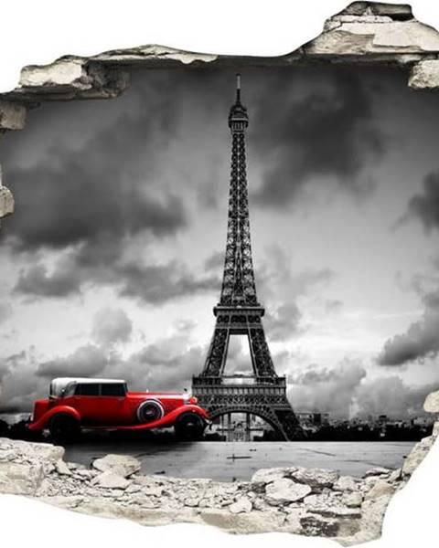 Ambiance Samolepka Ambiance Ladscape Paris, 60 x 90 cm