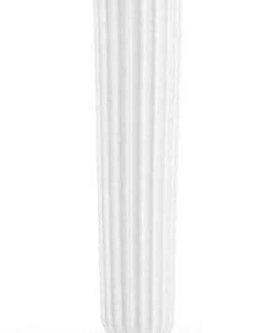 Bílý kameninový svícen Kähler Design Hammershoi, výška 16 cm