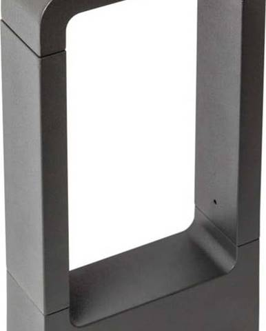 Černé venkovní svítidlo SULION Cobaqua, 30x16cm