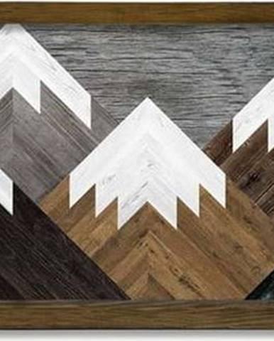 Nástěnný obraz Mountains, 120 x 35 cm