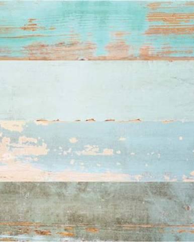 Samolepka na podlahu Ambiance Floor Sticker Parquet Floor Cote dOpale, 90 x 60 cm