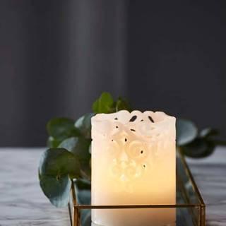 LED svíčka Star Trading Clary, výška 10 cm