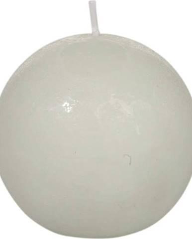 Bílá svíčka J-Line Ball