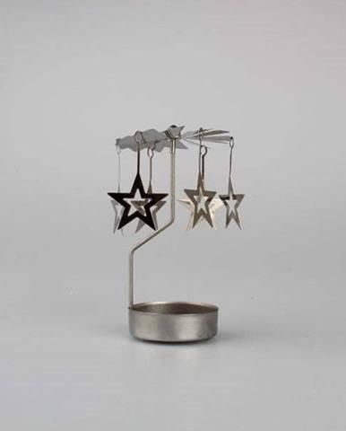 Kovový otáčející sesvícen Dakls Stars