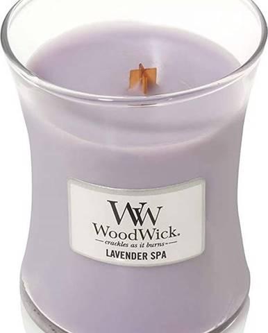 Vonná svíčka WoodWick Levandulová lázeň, 55hodin hoření