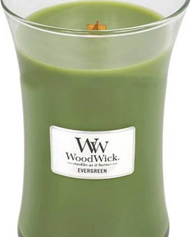 Vonná svíčka WoodWick Vůně jehličí, 110hodin hoření