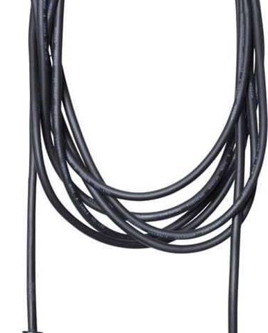 Černý kabel s koncovkou pro žárovku Star Trading Cord Ute, délka 2,5 m