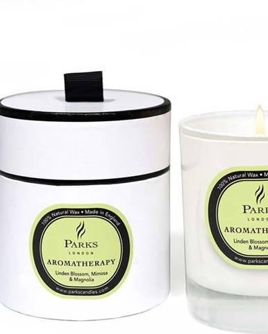 Svíčka s vůní lipového květu, mimózy a magnolie Parks Candles London, 50 hodin hoření