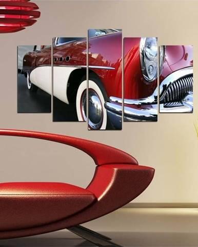 Vícedílný obraz 3D Art Retro Vintage Car, 102x60cm