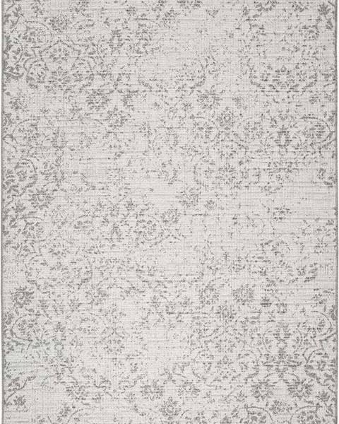Universal Šedobéžový venkovní koberec Universal Weave Kalimo, 155 x 230 cm