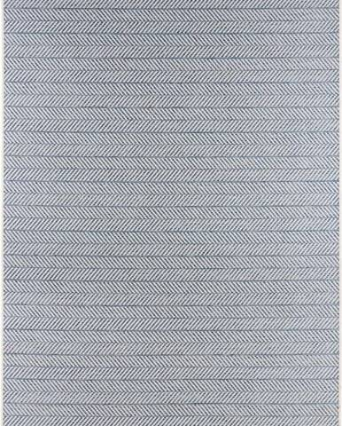 Modrý venkovní koberec Bougari Caribbean, 70x140cm