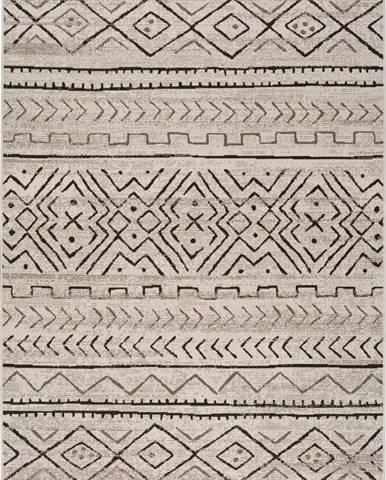Šedobéžový venkovní koberec Universal Libra Grey Garro, 140 x 200 cm