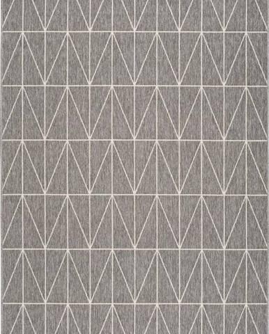 Šedý venkovní koberec Universal Nicol Casseto, 170 x 120 cm